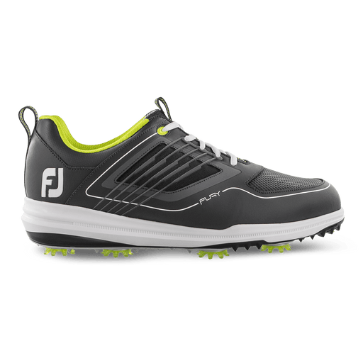FootJoy Fury Grey/Lime Golf Shoes - HowardsGolf