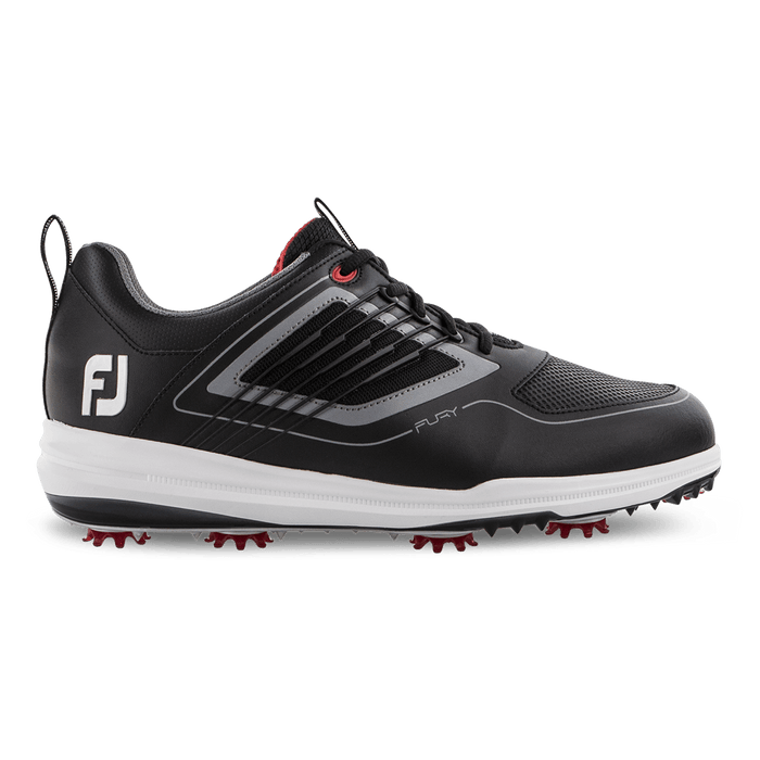 FootJoy Fury Black/Red Golf Shoes - HowardsGolf