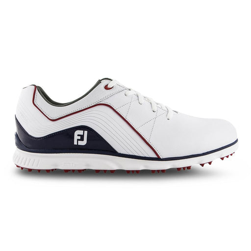 FootJoy Pro SL White/Navy/Red Golf Shoes - HowardsGolf