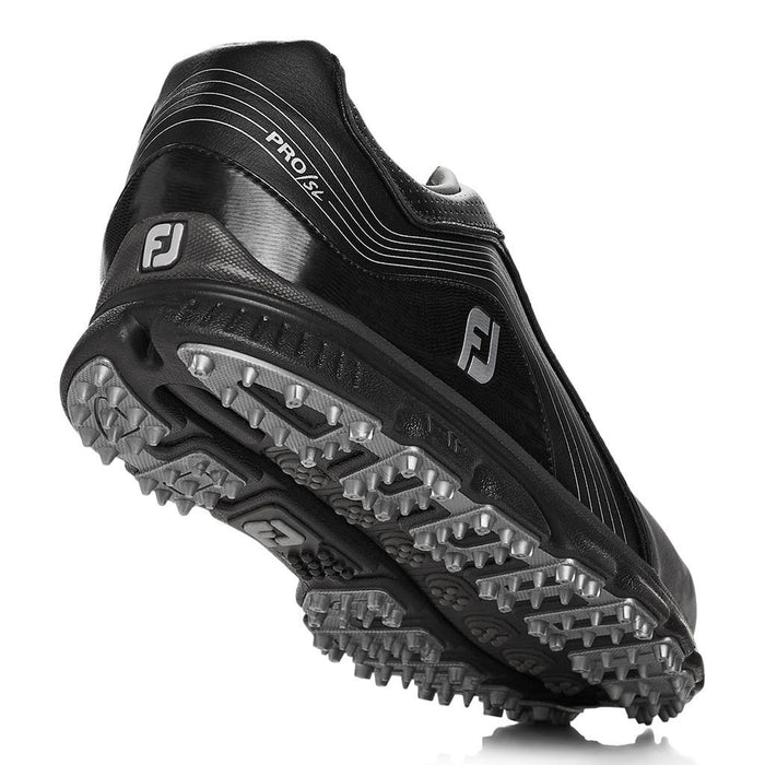 FootJoy Pro SL Black/Charcoal Golf Shoes - HowardsGolf
