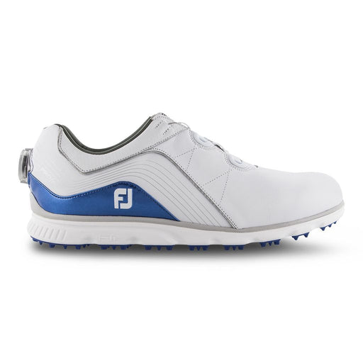 FootJoy Pro SL BOA White/Indigo Golf Shoes - HowardsGolf