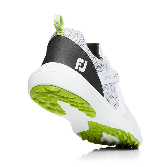 FootJoy Flex Spikeless White Golf Shoes - HowardsGolf
