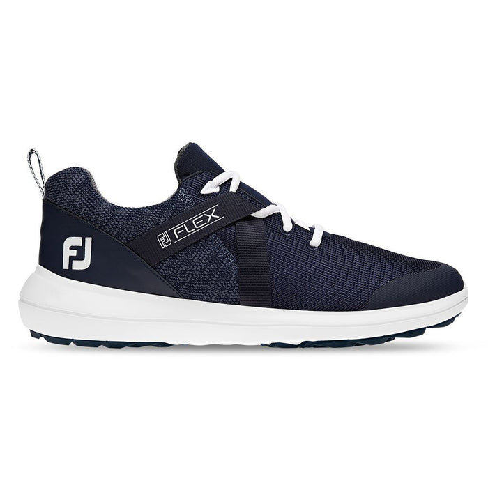 FootJoy Flex Spikeless Navy Golf Shoes - HowardsGolf