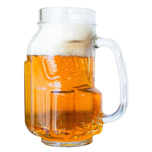 Golf Beer Mug - Clear Finish