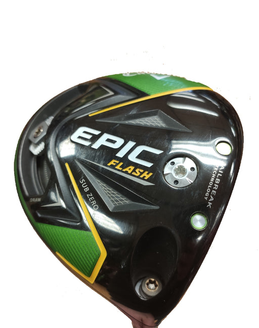 Used Callaway Epic Flash Sub Zero Driver - HowardsGolf