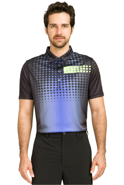 Jamie Sadock M91100 Polaris Golf Polo Large - HowardsGolf