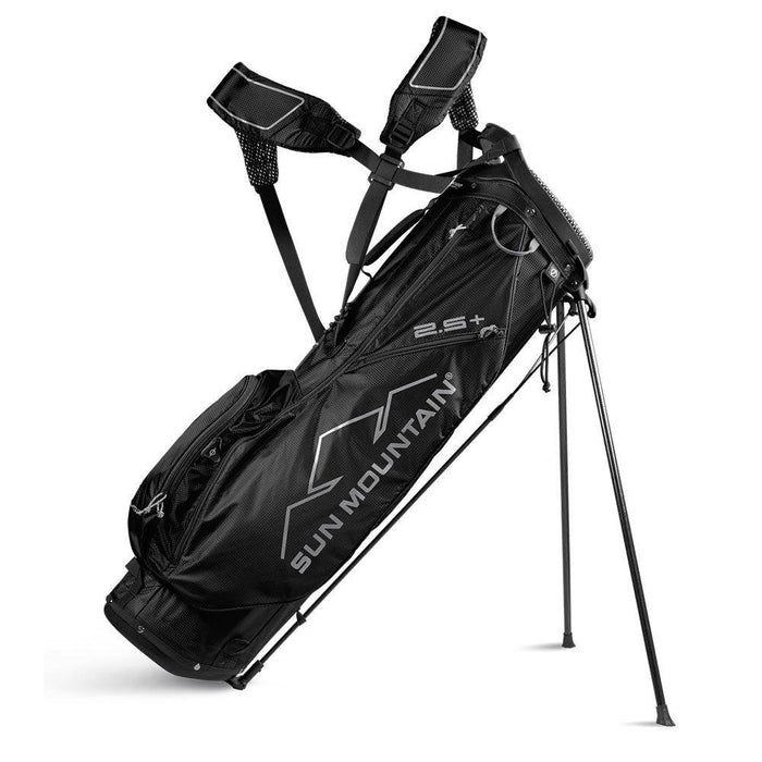 Sun Mountain 2.5+ Stand Bag Black - Left Handed