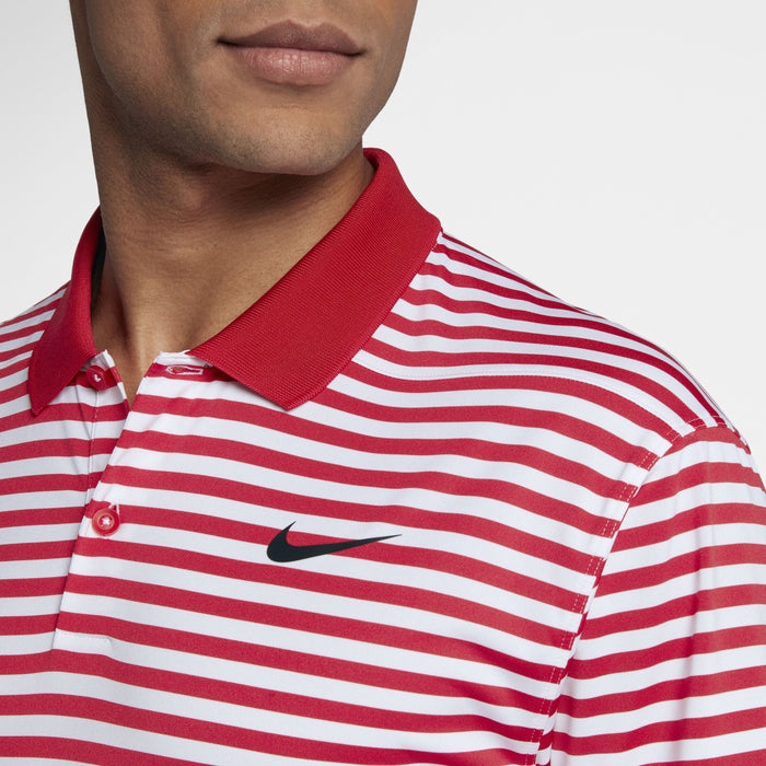 Nike Victory Stripe 891239 University Red/White/Black - HowardsGolf