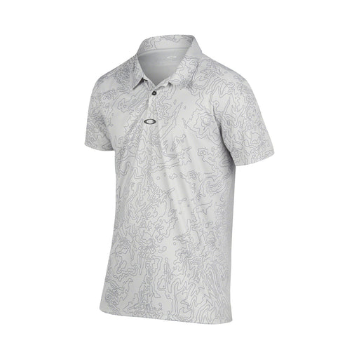 Oakley Men's Direct Polo Light Grey Large - HowardsGolf