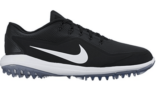 NIKE Lunar Control Vapor 2 Golf Shoes - Black/White/Cool Gray
