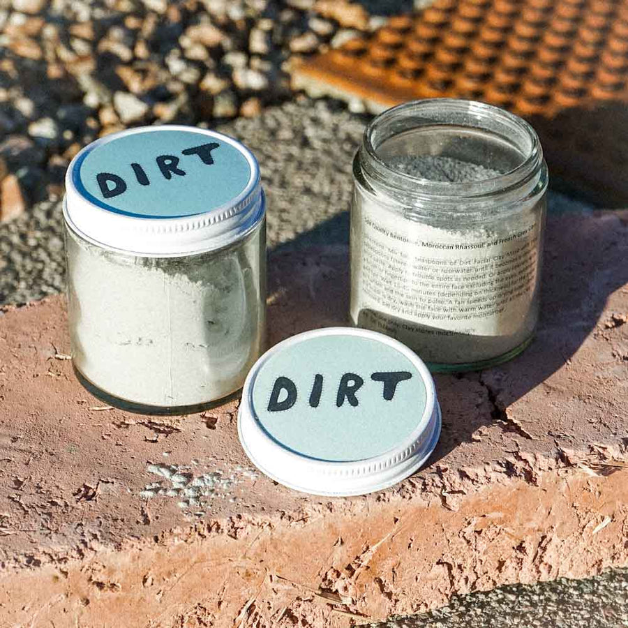 DIRT FACIAL CLAY MASK - DIRT