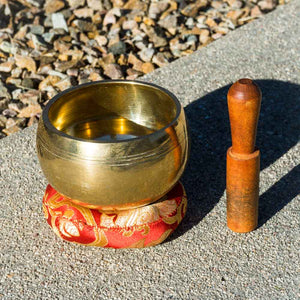 MACHINED SINGING BOWL - DIRT