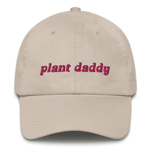 PLANT DADDY Dad Hat with Pink Embroidery - DIRT