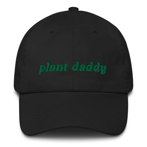 PLANT DADDY Dad Hat with Green Embroidery - DIRT
