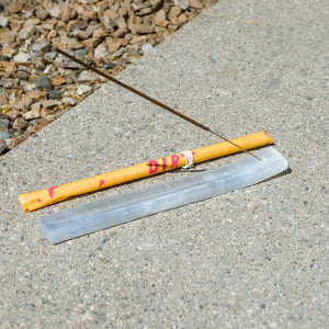Selenite Incense Holder - DIRT