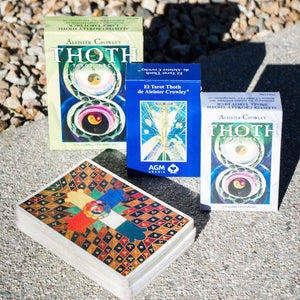 Crowley Thoth tarot card deck large regular Spanish English dirt shop