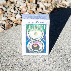 aleister crowley thoth tarot card deck regular English dirt shop