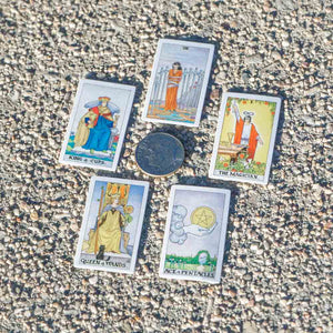 TINY UNIVERSAL WAITE TAROT - DIRT