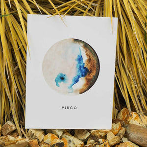 ZODIAC WATERCOLOR - DIRT