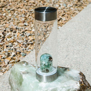 VitaJuwel ViA Gemwater Bottle - DIRT