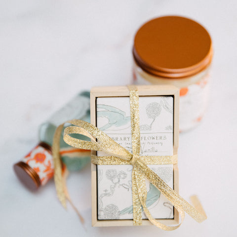 Library of Flowers Gift Sets