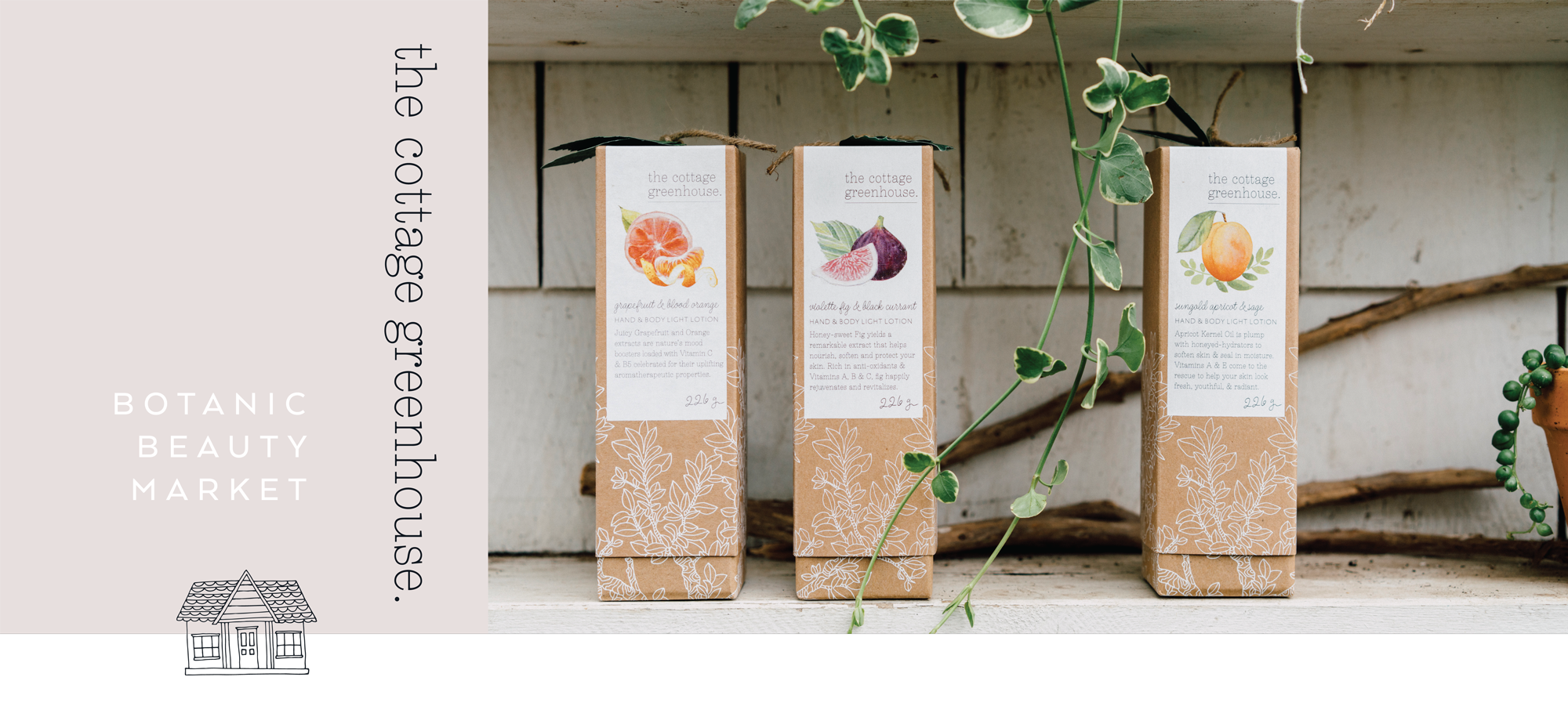 The Cottage Greenhouse | Botanic Beauty Market