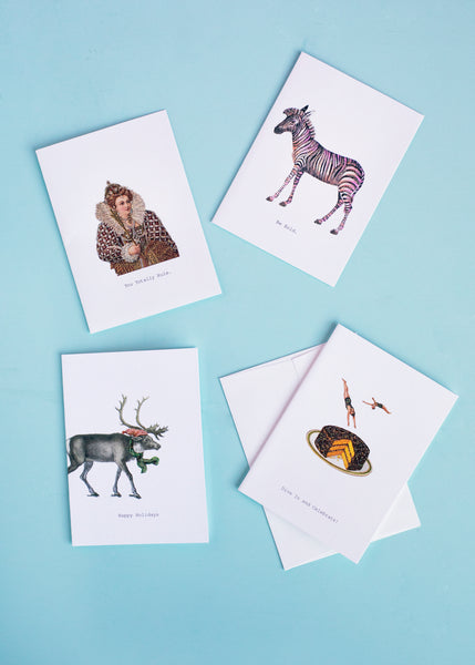 Greeting Card Set of Four
