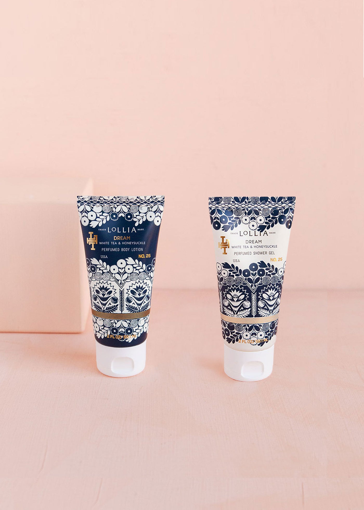 Dream Body Lotion &  Shower Gel Travel-Size Duo