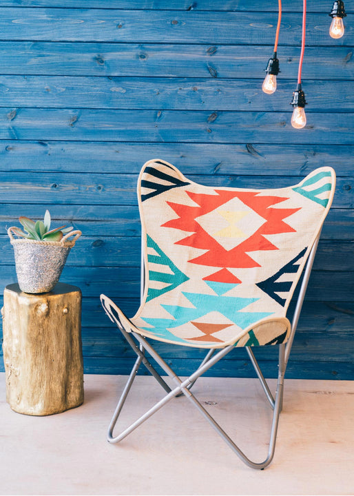 Desert Bloom Butterfly Chair