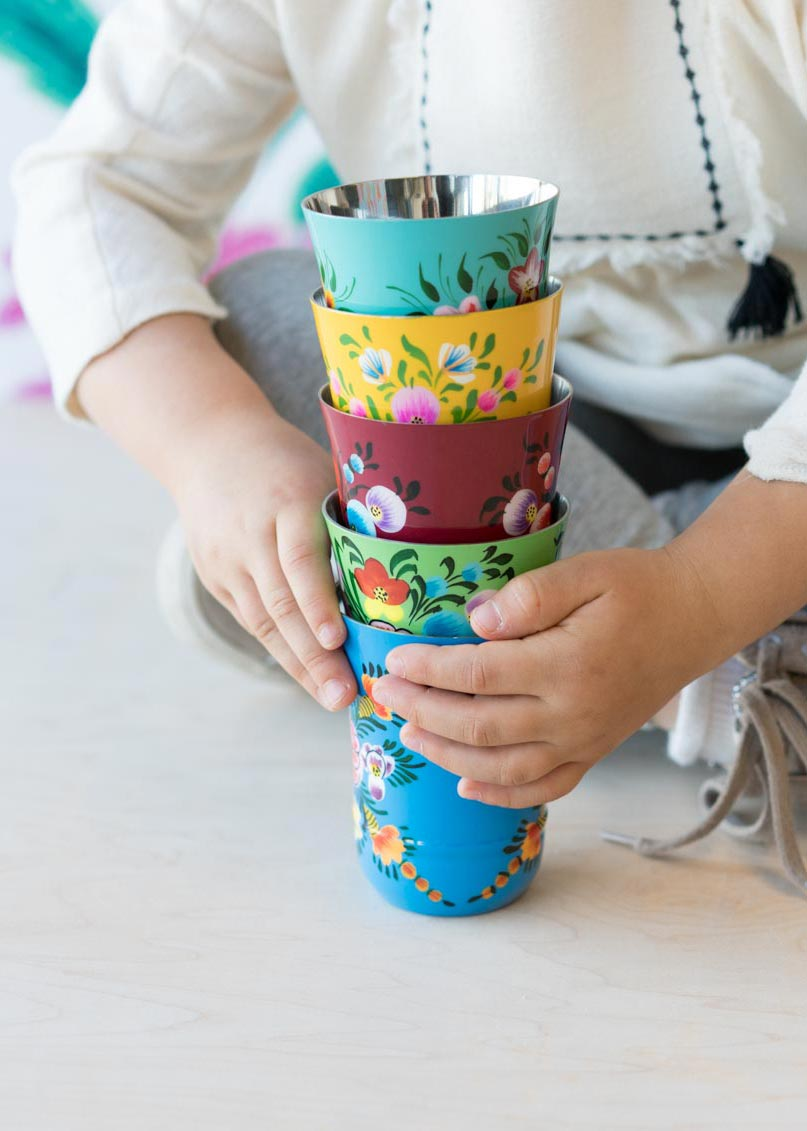 Millifiori Tumblers | Assorted Colors