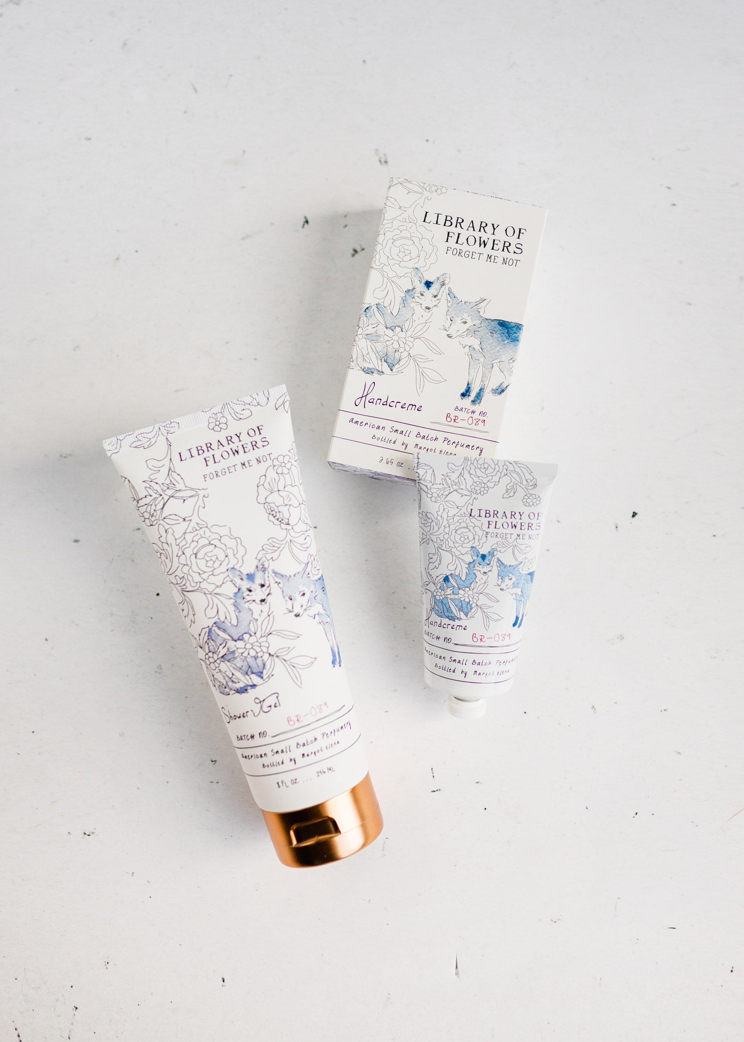 Forget Me Not Shower Gel & Handcreme Duo