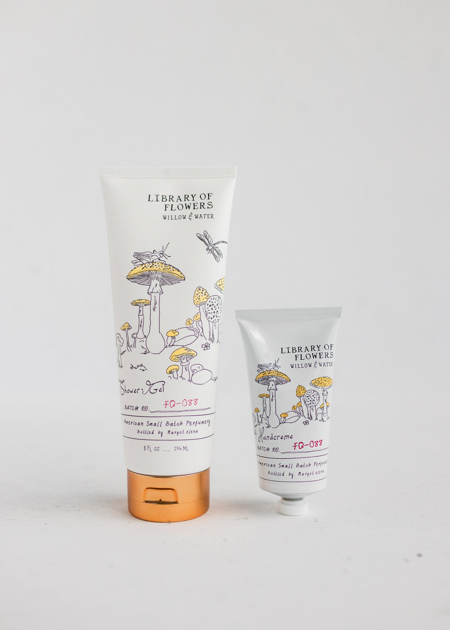 Willow & Water Shower Gel & Handcreme Duo