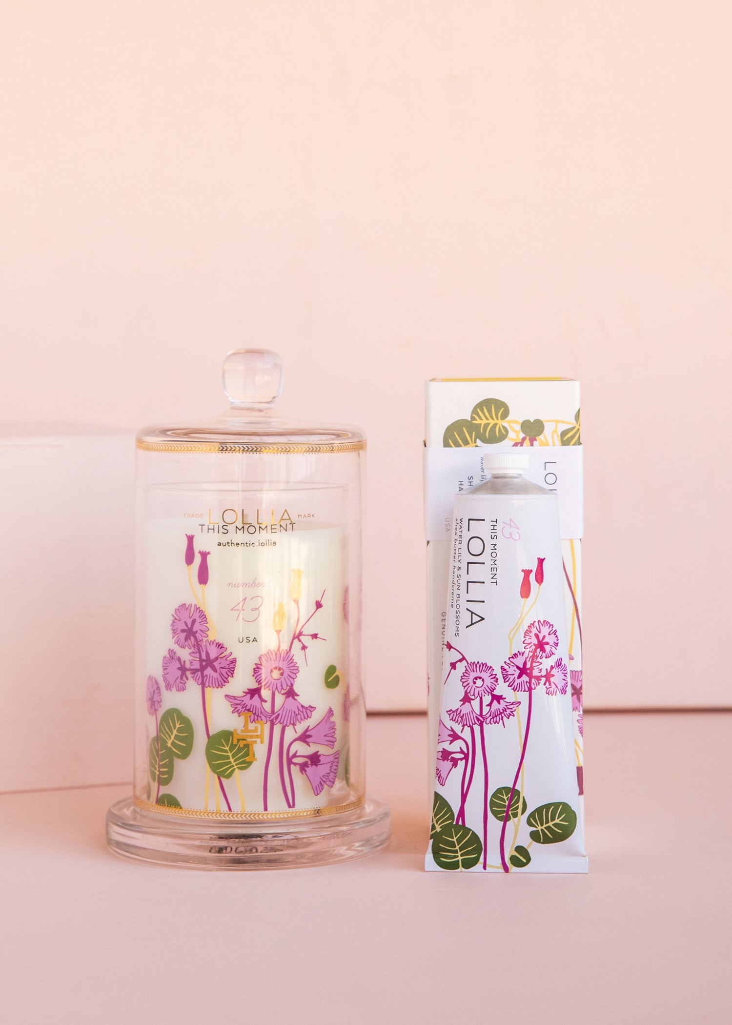 This Moment Candle & Handcreme Duo