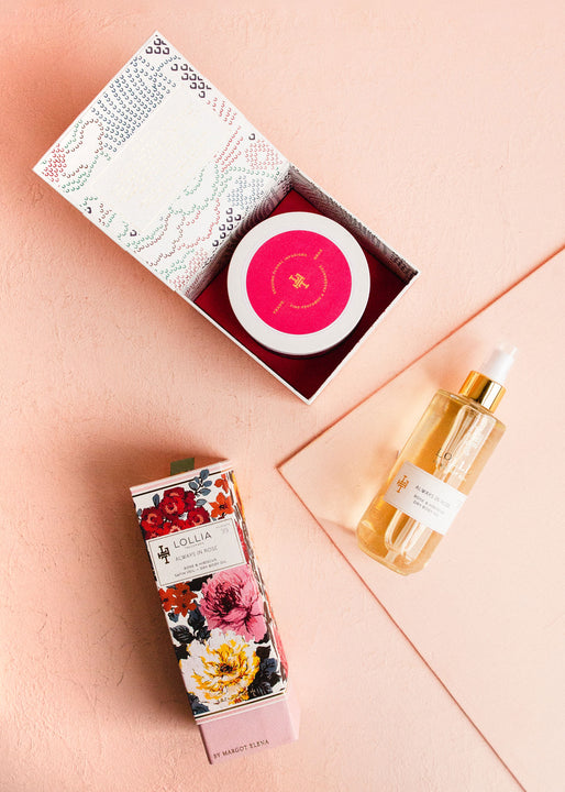 Skin Softening Gift Set | Always in Rose