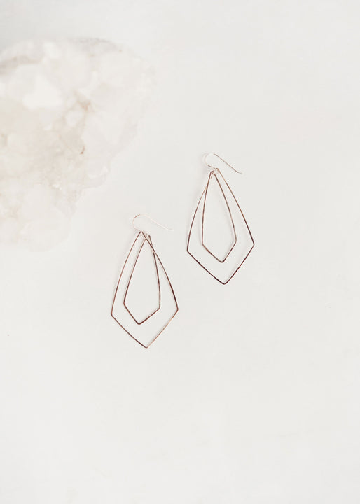 Silver Pendulum Earrings