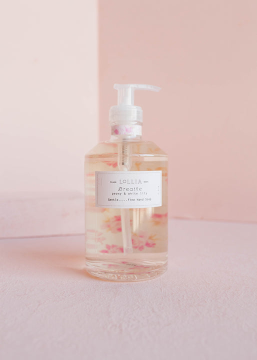 NEW! Breathe Fine Hand Soap