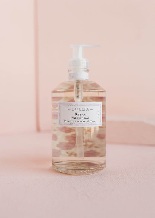 NEW! Relax Fine Hand Soap