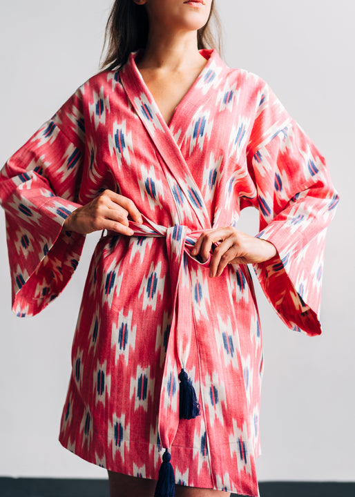 Ikat Robe: Coming Soon!