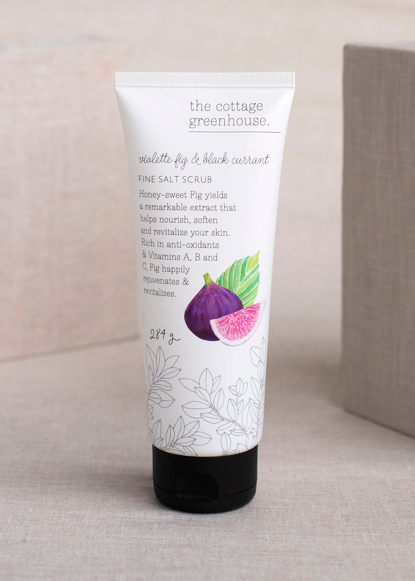 Violette Fig & Black Currant Salt Scrub