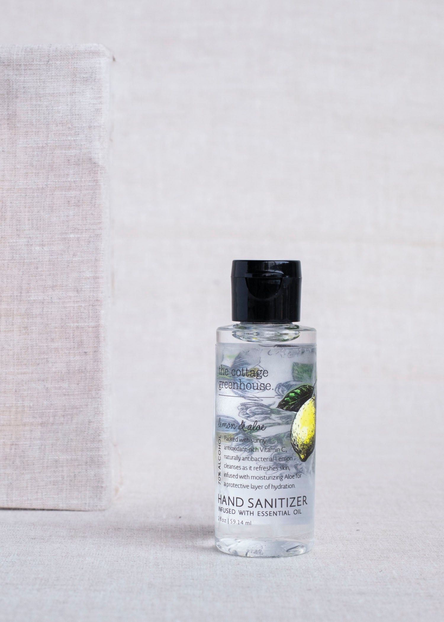Lemon & Aloe Hand Sanitizer Gel - 2 oz