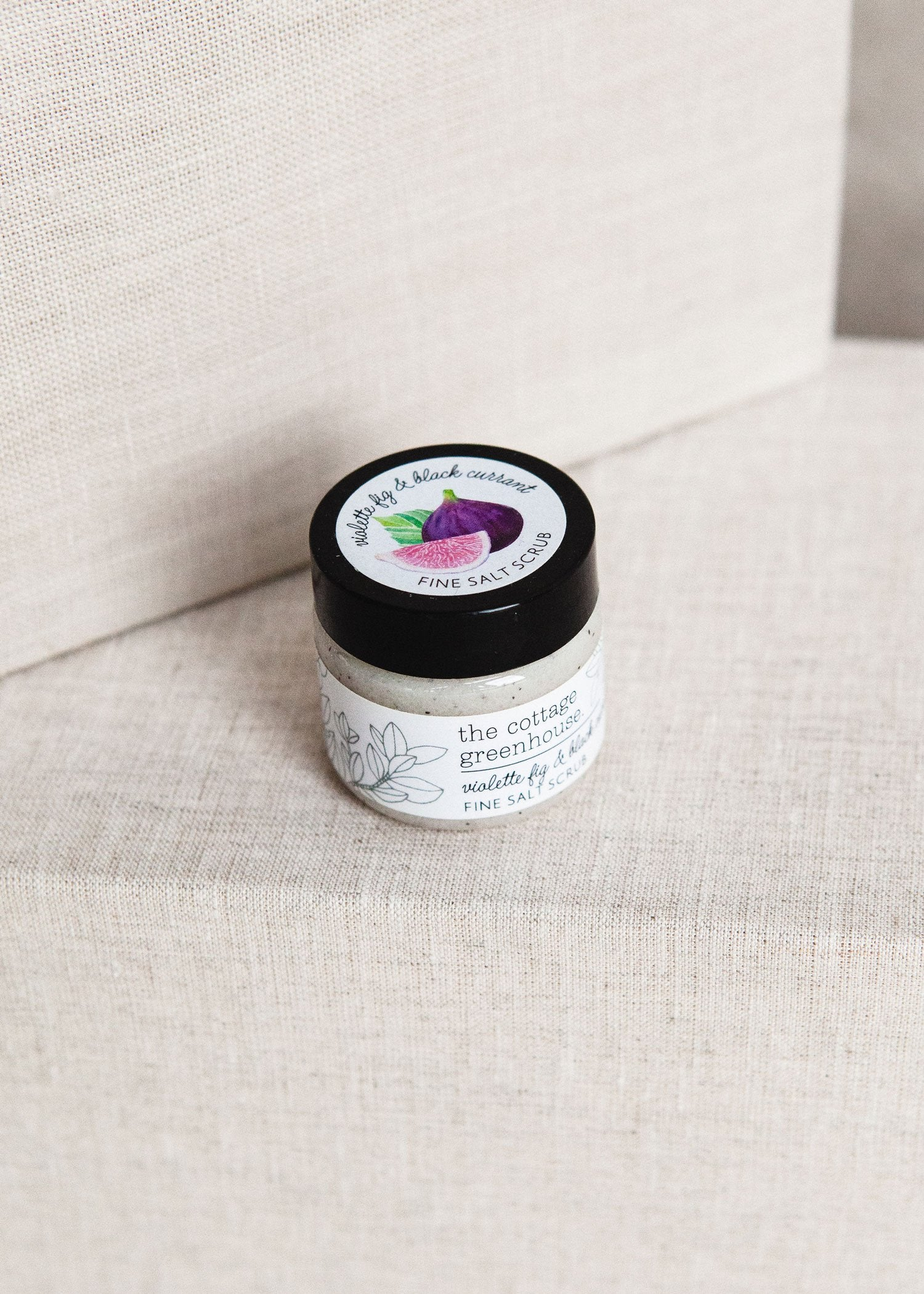 Violette Fig & Black Currant Travel Size Fine Salt Scrub