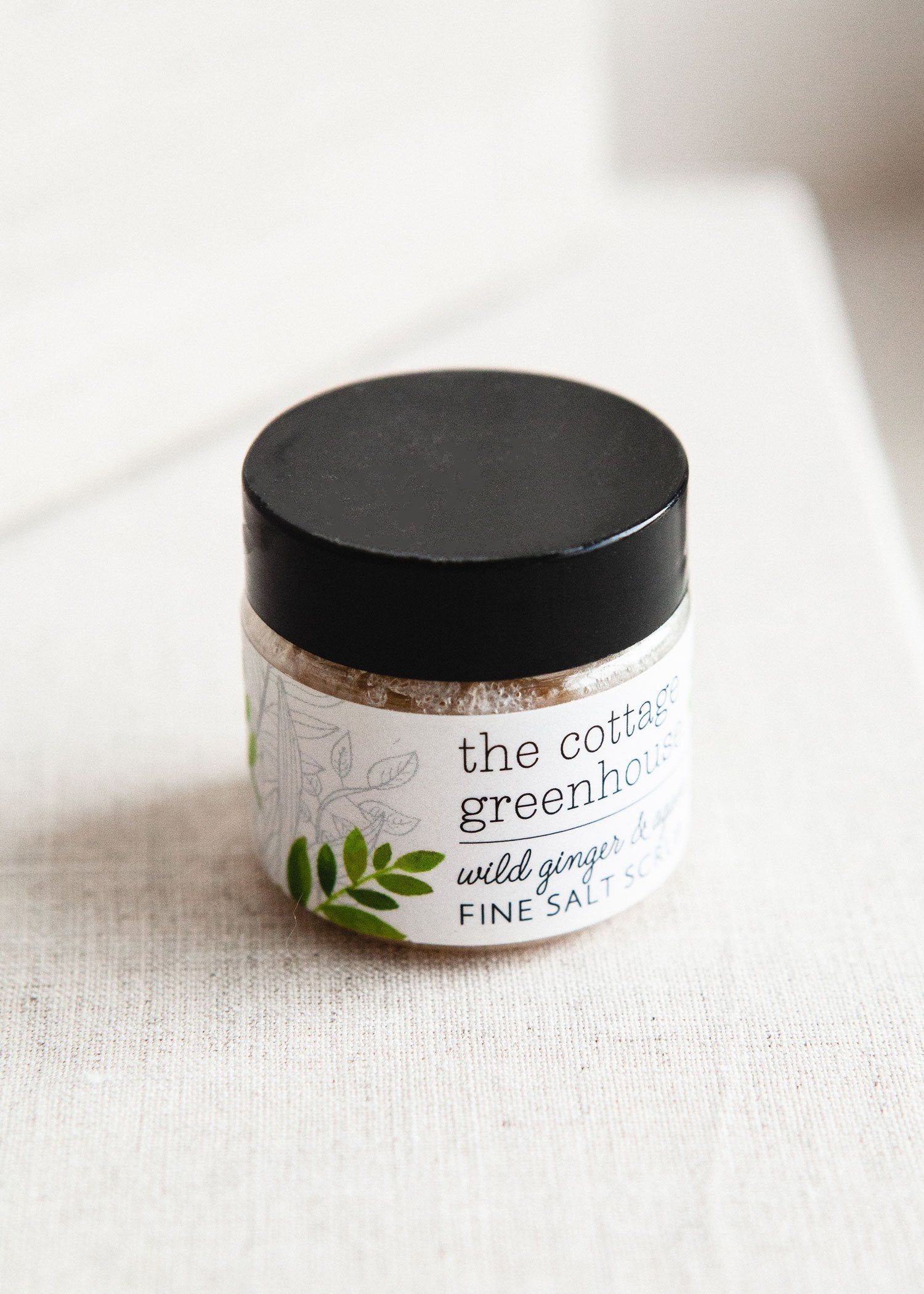Wild Ginger & Agave Travel Size Fine Salt Scrub