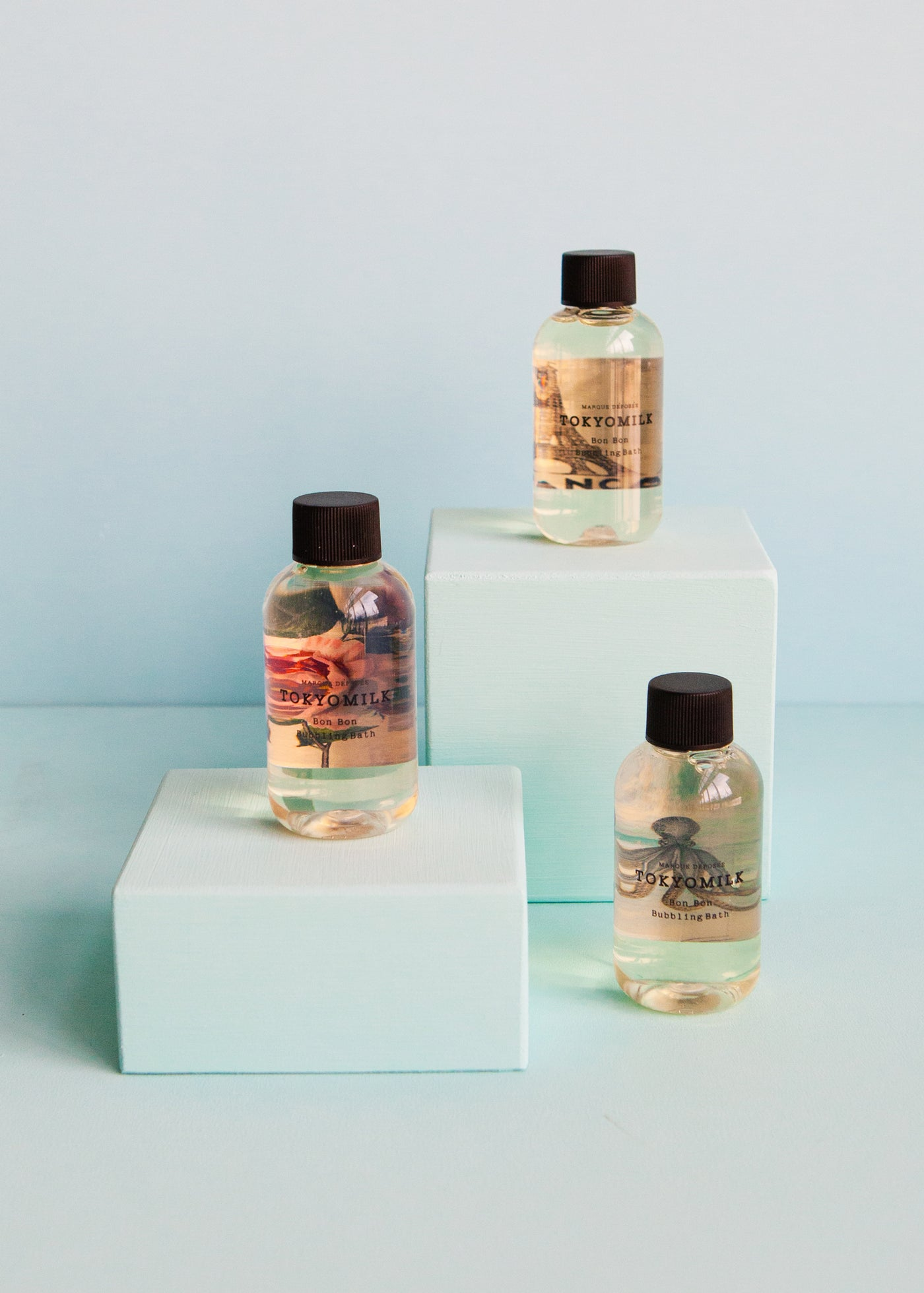 TokyoMilk Bubble Bath Travel Trio