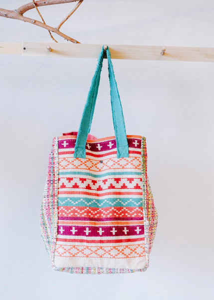 Large Tribal Tote Bag