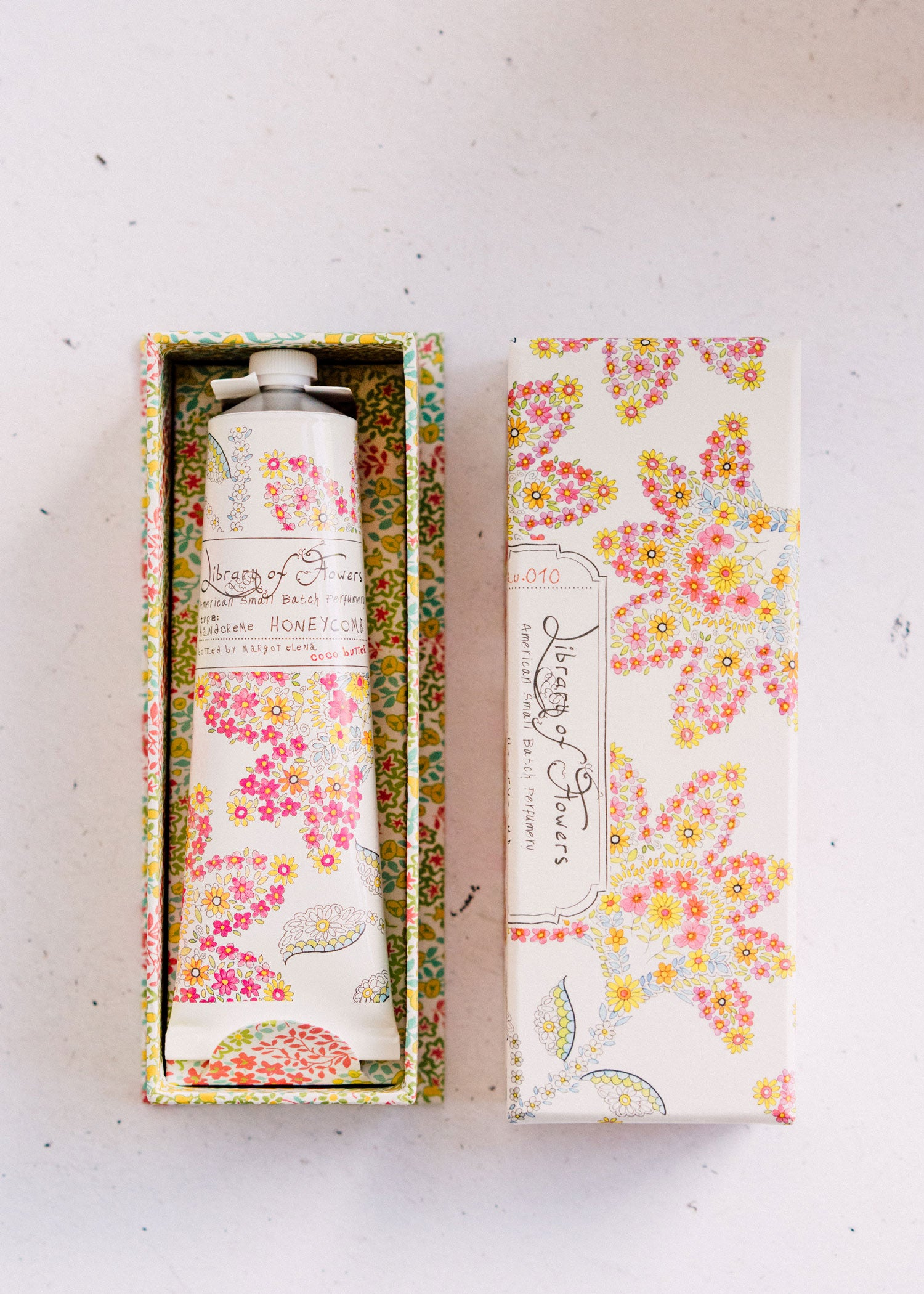 Honeycomb Duo | Perfume & Hand Cream | Library of Flowers