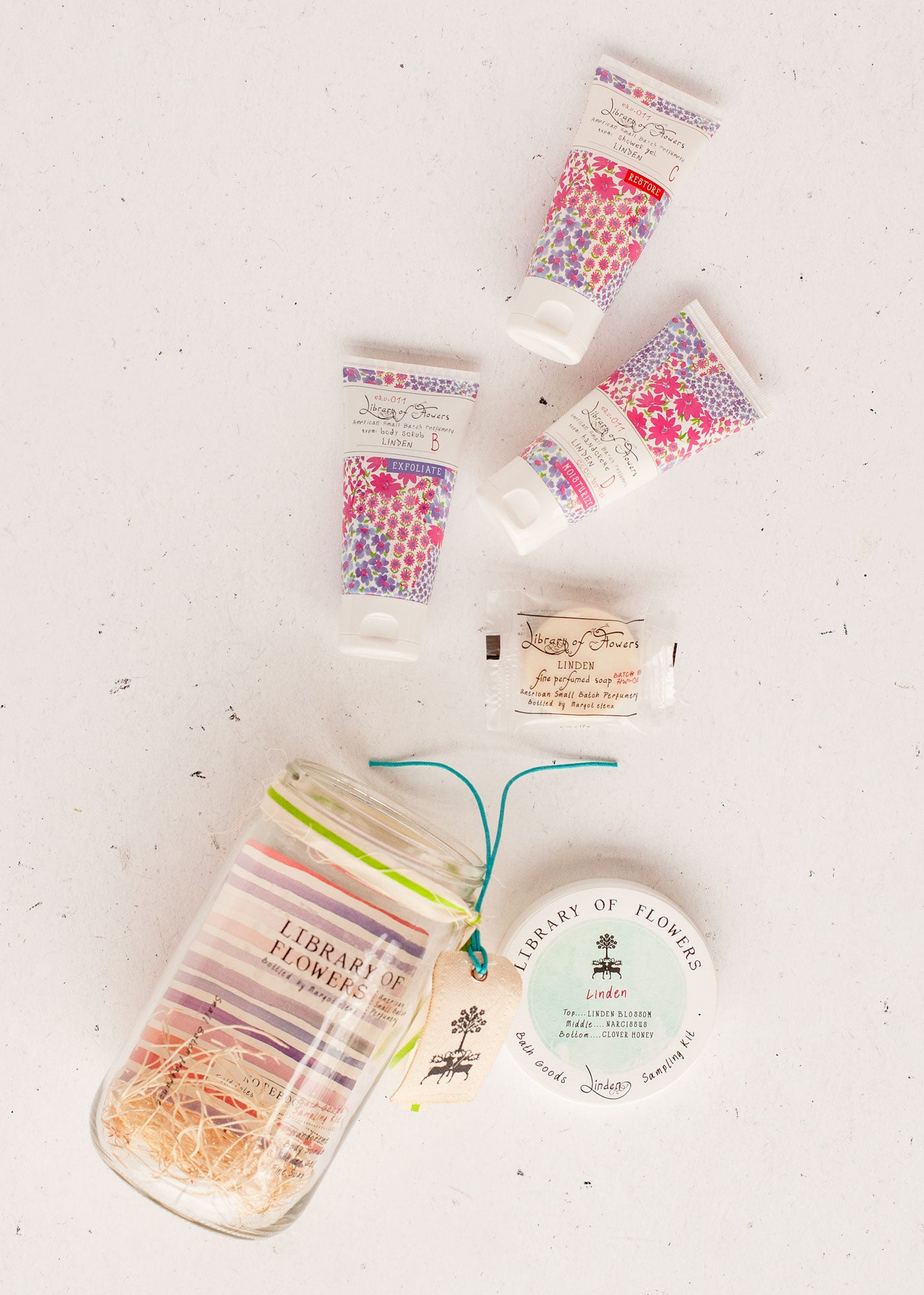 Linden Bath Goods Sampling Kit