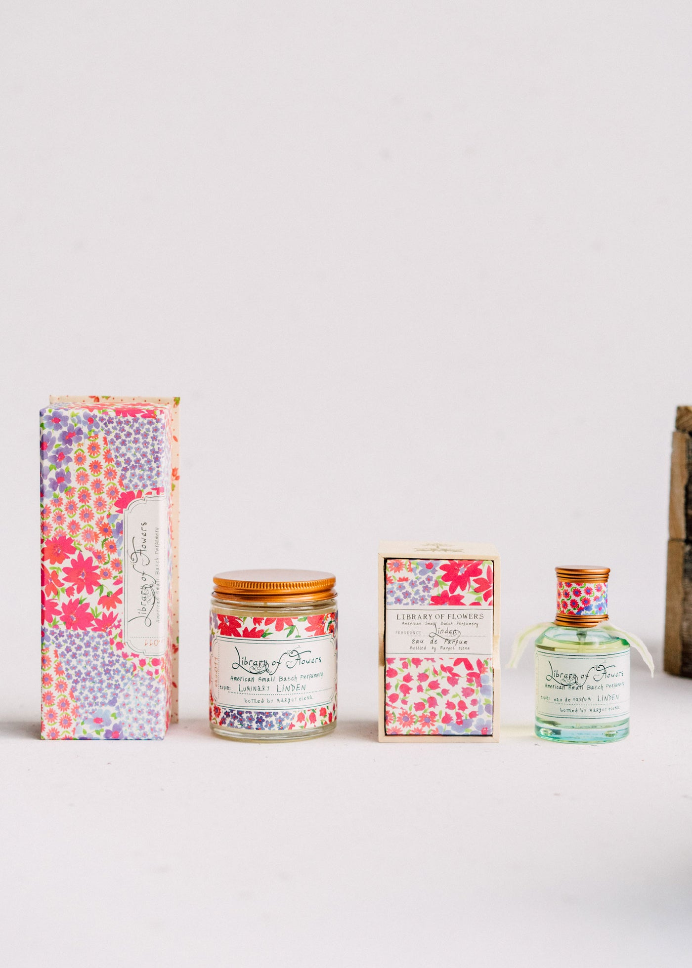 Linden Trio | Perfume, Lotion & Scented Candle | Library of Flowers