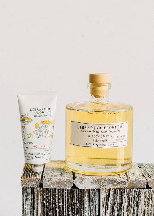 Willow & Water Duo | Bubble Bath & Hand Cream | Library of Flowers