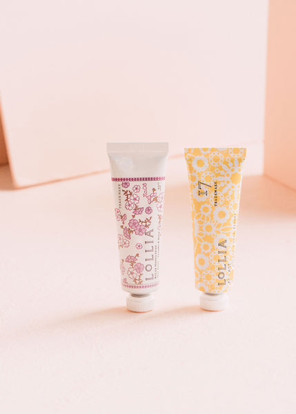 At Last & Relax Petite Treat Handcreme Pair