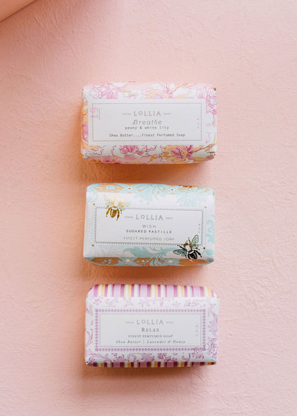 Soap Trio Set: Wish, Relax & Breathe